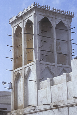 Traditional wind tower, Manama, Bahrain *** Local Caption ***