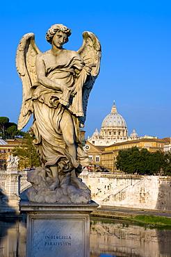 Vatican and River Tiber, Rome, Lazio, Italy, Europe