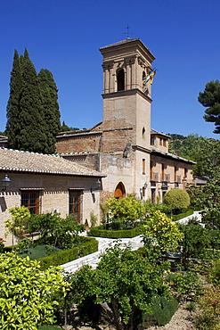 Convent of San Francisco, a Parador, Granada, Andalucia, Spain, Europe