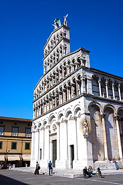 San Michele Church, Lucca, Tuscany, Italy, Europe