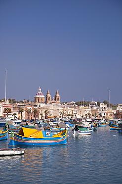 Marsaxlokk, Malta, Mediterranean, Europe