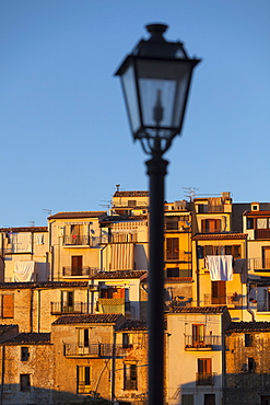 Village houses, Gratteri, Palermo Province, Sicily, Italy, Mediterranean, Europe