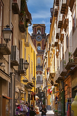 Back street, Sorrento, Campania, Italy, Mediterranean, Europe