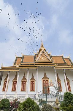 The Throne Hall, The Royal Palace, Phnom Penh, Cambodia, Indochina, Southeast Asia, Asia