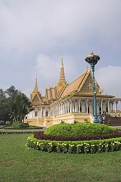 The Throne Hall, The Royal Palace, Phnom Penh, Cambodia