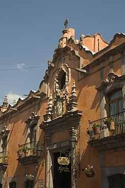 La Casa de la Marquesa Hotel in Santiago de Queretaro (Queretaro), UNESCO World Heritage Site, Queretaro State, Mexico, North America