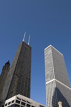 Hancock Building, Chicago, Illinois, United States of America, North America