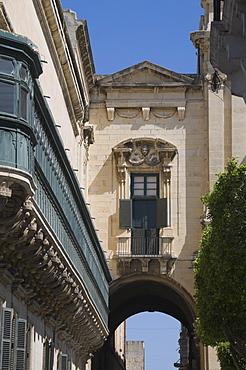 Exterior of the Grand Master's Palace, Valletta, Malta, Europe