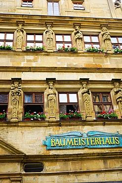 Master Builders House, Rothenburg ob der Tauber, Romantic Road, Franconia, Bavaria, Germany, Europe