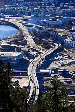 Road system, Bergen, Norway, Scandinavia, Europe