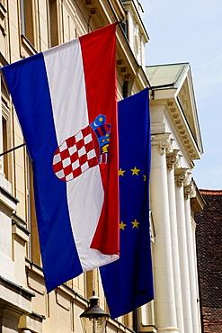 Government Quarter, Upper Town, Zagreb, Croatia, Europe