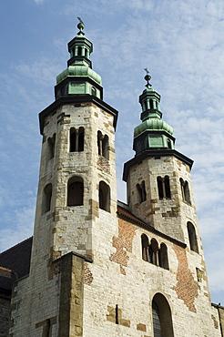 Saint Andrew's Church, Grodzka Street, Krakow (Cracow), UNESCO World Hertitage Site, Poland, Europe