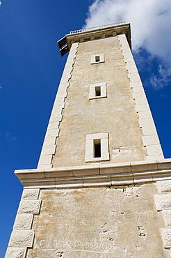 Lighthouse, Fiskardo, Kefalonia (Cephalonia), Ionian Islands, Greece, Europe