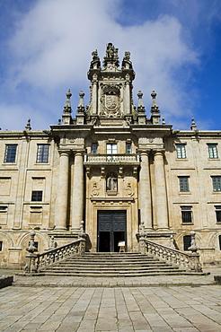 Monastery of San Martin Pinario, Santiago de Compostela, Galicia, Spain, Europe