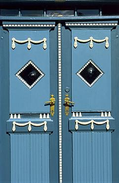 Door, Aeroskobing, Aero, Denmark, Scandinavia, Europe