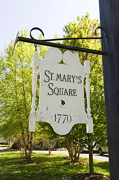 St. Mary's Square, St. Michaels, Talbot County, Chesapeake Bay, Maryland, United States of America, North America