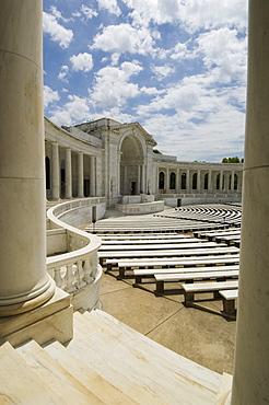 The Memorial Amphitheatre, Arlington National Cemetery, Arlington, Virginia, United States of America, North America