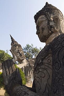 Buddha Park, Xieng Khuan, Vientiane, Laos, Indochina, Southeast Asia, Asia
