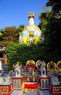 Buddha Statue, Temple Garden, Repulse Bay, Hong Kong Island, Hong Kong