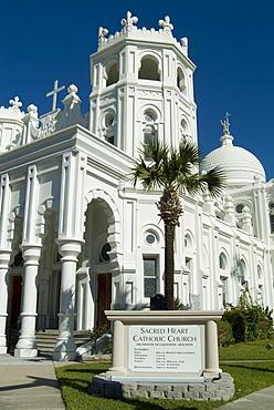 Sacred Heart Catholic Church, Historic District, Galveston, Texas, USA, North America