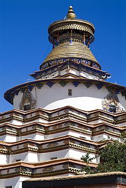 Kumbum, Gyantse, Tibet, China, Asia