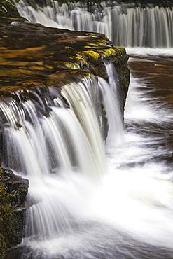 Horseshoe Falls, Brecon Beacons, Wales, United Kingdom, Europe