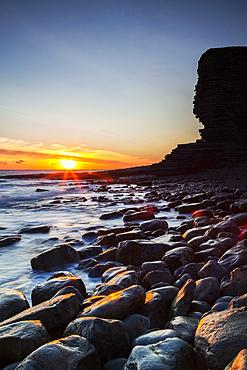 Nash Point, Glamorgan Heritage Coast, Vale of Glamorgan, Wales, UK