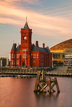Pier Head, Cardiff Bay, Cardiff, Wales, United Kingdom, Europe