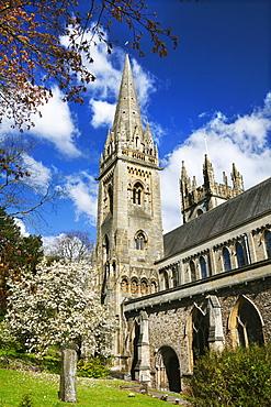 Llandaff Cathedral, Cardiff, Wales, United Kingdom, Europe