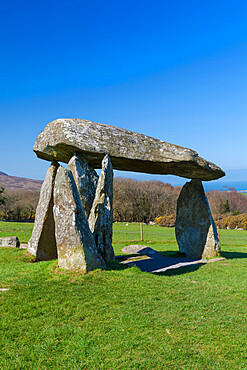 Pentre Ifan Burial Chamber, Preseli Hills, Pembrokeshire, Wales, UK
