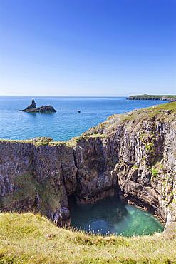 Church Rock, Bosherton, Pembrokeshire, Wales, UK