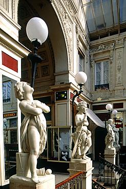 France, Pays De La Loire, Loire Atlantique (44), Nantes, Famous Covered Pommeraye Passage Entrance