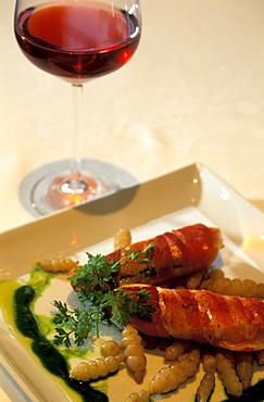 Restaurant Valentino, Troyes, Aube, Champagne, France, Europe