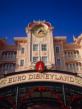 Euro Disneyland, Paris, France, Europe