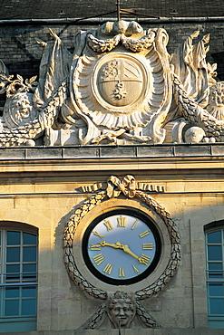 Dijon, City Hall, Clock, Burgundy, France