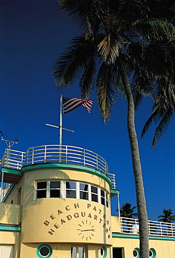 Beach Patrol Headquarters, Miami Beach, Florida, Usa