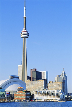 CN Tower and skyline of Toronto, Ontario, Canada