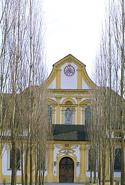 Exterior, Stift Stams Christian monastery, Tyrol, Austria, Europe