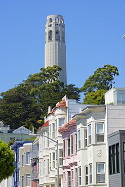 Coit Tower, San Francisco, California, United States of America, North America