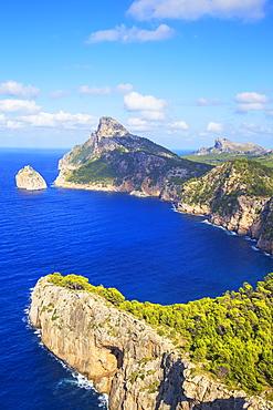 Cap de Formentor, Mallorca (Majorca), Balearic Islands, Spain, Mediterranean, Europe