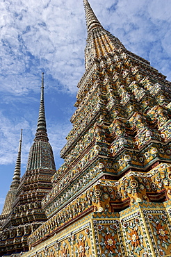 Wat Phra Chetuphon, formerly Wat Po, founded in the 17th century, the oldest temple in Bangkok, Bangkok, Thailand, Southeast Asia, Asia