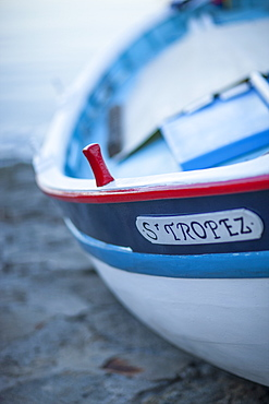 Fishing boat, St. Tropez, Var, Provence, Cote d'Azur, French Riviera, France, Mediterranean, Europe