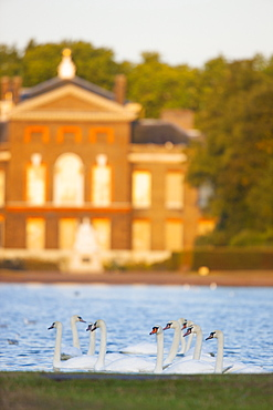 Kensington Palace in Kensington Gardens, London, England, United Kingdom, Europe