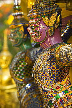 Detail, Grand Palace, Bangkok, Thailand, Southeast Asia, Asia