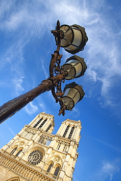 Notre Dame Cathedral, Paris, France, Europe - 728-6409