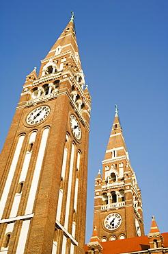 Szeged Cathedral, Szeged, Hungary, Europe