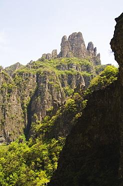 Wan Xian mountain recreation area, Huixian city, Henan Province, China, Asia
