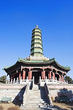 Xumi Fushou (Temple of Sumeru Happiness and Longevity) dating from 1780, Chengde city, UNESCO World Heritage Site, Hebei Province, China, Asia