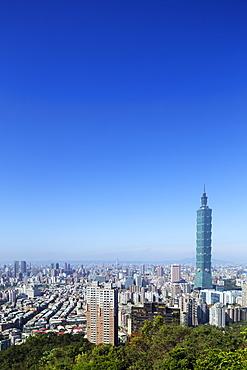 Taipei 101 building, Taipei, Taiwan, Asia