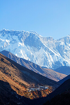 Village of Dingboche, Sagarmatha National Park, UNESCO World Heritage Site, Khumbu Valley, Nepal, Himalayas, Asia
